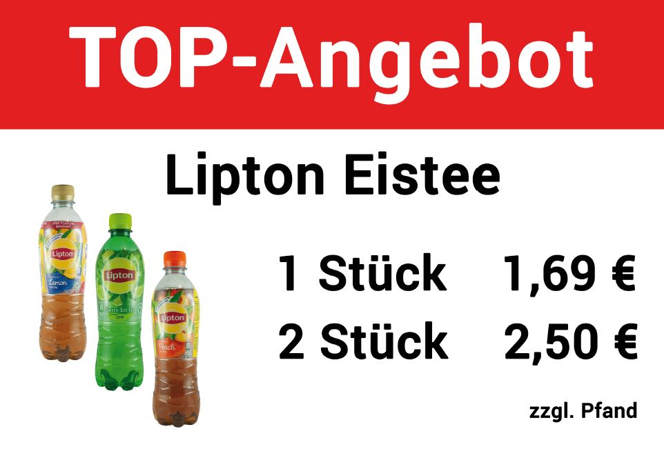 AVIA Horb - Angebot Lipton Eistee